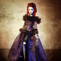 Barbie La Reine De La Nuit Convention 2013 Platinum