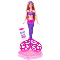Boneca Barbie Fairy Sereia Bolhas Mágicas - Mattel Cff49