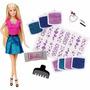 Boneca Barbie Gliter No Cabelo Mattel Promoçâo!!!