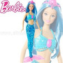 Boneca Barbie - Mix & Match - Sereia Azul- Mattel