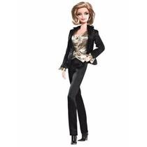 Barbie Collector James Bond 007 Goldfinger Pussy Galore Nrfb