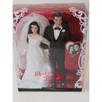 Barbie E Ken / Elvis E Priscilla Presley - Pink Label Mattel