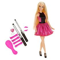 Boneca Barbie Cabelos Cacheados Mattel