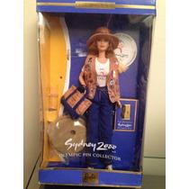 Barbie Colecionável Sydney 2000 Olympic Pin Collector