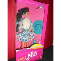 Barbie Vintage Western Fun Nia 1989 Mattel Rara Nao Gravida