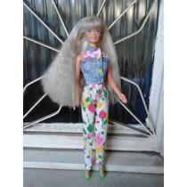 Boneca Barbie Estrela Antiga Anos 80