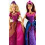 Boneca Barbie Princesa Castelo De Diamante