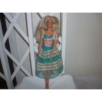 Colecionismo - Antiga Barbie Da Estrela Autêntica