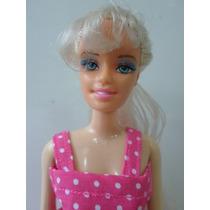 Boneca Estilo Barbie Antiga Em Otimo Estado