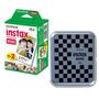 Caixa Para Filmes Fujifilm Instax Mini Com Estampa Xadrez