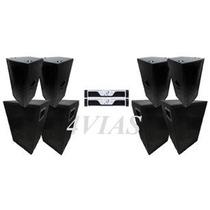 Kit Som (pa) 4 Cxs 2x12+ti Pro + 4 Sb850 Oversound -lj 4vias