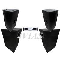 Kit Som (pa) 2 Cxs 2x12+ti Pro + 2 Sb850 Oversound -lj 4vias