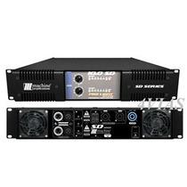 Amplificador De Potência Machine Sd10.0 10.000w Rms Lj 4vias