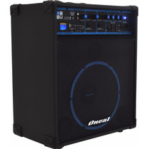 Caixa Multiuso Oneal Ocm-390bt 80w Rms Usb Sd Fm Bluetooth