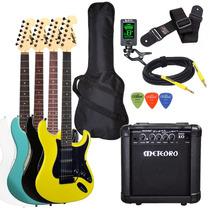 Kit Guitarra Tagima Mg32 Cubo Meteoro Afinador Capa Acessori