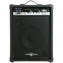 Caixa De Som Amplificada Mf 600 Bluetooth Usb 80wrms Frahm