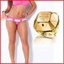 Kit Com 3 Calcinhas Drapeadas Grátis Perfume Importado*