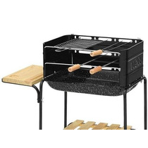 Churrasqueira Portatil Grill Kit Churrasco Exterior Espeto