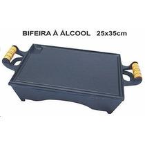 Rechaud Com Fogareiro A Alcool Ferro Fundido A089