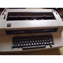 Máquina De Escrever/datilografar Elétrica Ibm/funcionando!!!