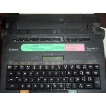 Maquina De Escrever Canon Eletronica