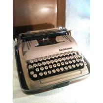 Máquina De Escrever Smith Corona Americana Portátil De 1950