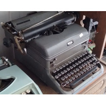 Maquina Escrever Anos 40 E 50 Royal De Ferro Antiga