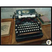 Antiga Máquina De Escrever Royal Standard De 1912 Revisada