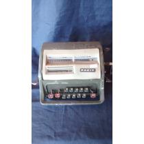 Máquina De Calcular Facit Antiga Verde