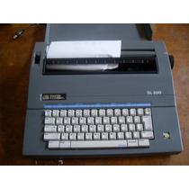 Maquina De Escrever Eletrica Smith Corona Funcionando Sl500