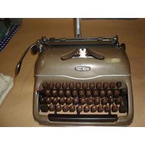 Maquina Portátil Escrever Triumph Anos 50 Revisada Tudo Ok