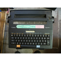 Maquina De Escrever Canon Typestar 2 Elétrica