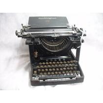 Maquina De Escrever Remington Antiga Casa Pratt Modelo Raro