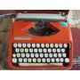 Raridade - Antiga Máquina De Escrever Da Marca Hermes Baby