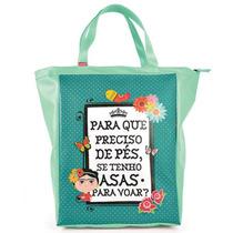 Bolsa Sacola De Livros Ou Compras Frida Carpe Diem