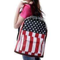 Mochila Bandeira Uk, Usa, Eua, Inglaterra - Frete Grátis !
