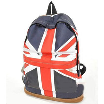 Mochila Estampada Bandeira Da Inglaterra, Aproveite!!