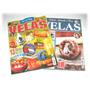 Lote De 2 Revistas - Velas Decorativas - Lindo Artesanato