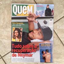 Revista Quem Acontece 11 Jun 2014 Neymar Bruna Marquezine