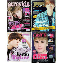 Kit De Revistas Do Justin Bieber - N°02 - Imperdível !!!