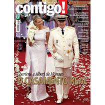 Revista Contigo! Nº 1868 - Mônaco - O Casamento Real