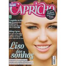 Capricho: Miley Cyrus / Luan Santana / Robert Pattinson
