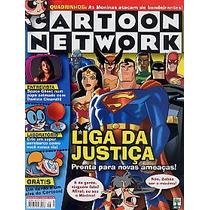 Revista Cartoon: Liga Da Justiça / De Março De 2003