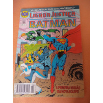 Hq - Liga Da Justiça E Batman Nº 2 ( A Queda Do Morcego)