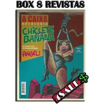 8 Revistas Chiclete Com Banana Antologia Humor
