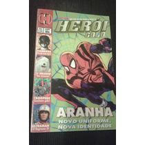 Revista Heroi Gold 66 Sampa Homem Aranha Rangers Ultraman