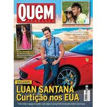 Revista Quem Acontece Nº717 Luan Santana