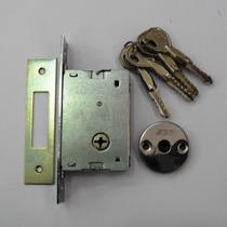 Fechadura Tetra Chave Stam 1001 Portas De Abrir Pronta Entre