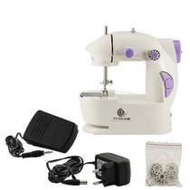 Máquina Costura Portátil Prática Bivolt E A Pilhas Inmetro