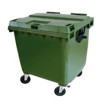 Coletor De Lixo Em Plástico Com Rodas 1000 Litros C1000